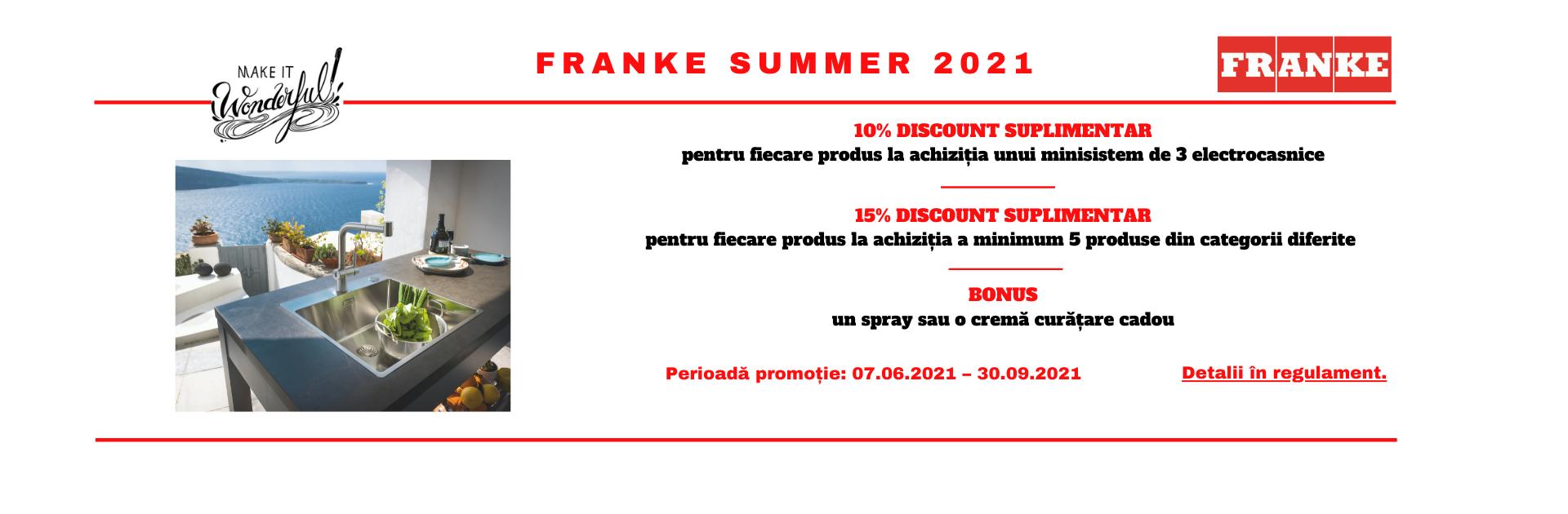 Promotia Franke SUMMER 2021